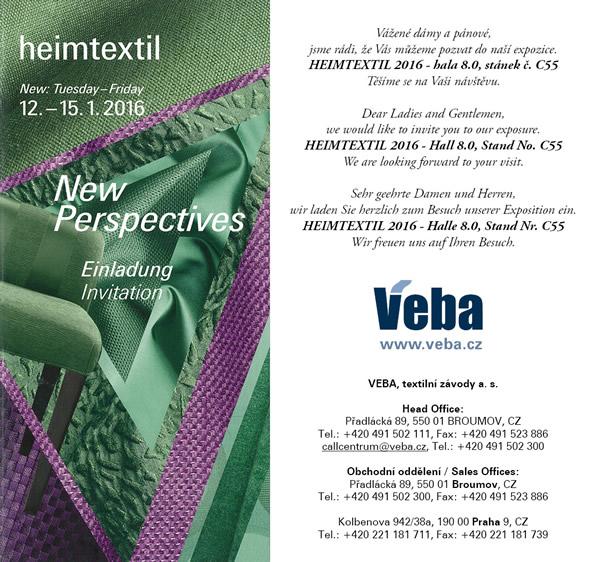 Exhibition Stand Invitation : Veba tradiční český výrobce afrických tkanin